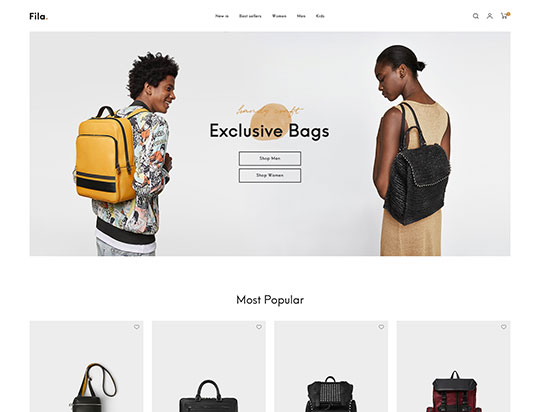 best minimal creative fashion wordpress themes 2018