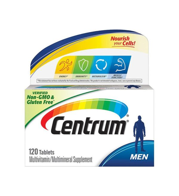 Centrum Men, Complete Multivitamin Multimineral Supplement Tablet